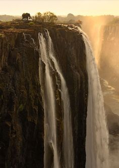 Victoria Falls... drink it in!