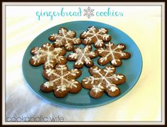 Cookaholic Wife: What's Baking: Gingerbread Cookies