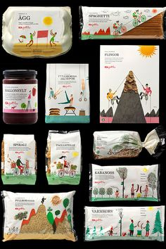 The 25 Coolest Packaging Designs Of 2013 // ICA, swedish brand of groceries
