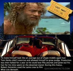 Cast Away Movie Facts