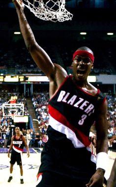 Clifford Robinson Portland Trail Blazers Kenny Anderson