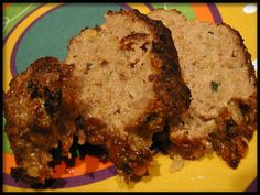 This is a Cameron Stovetop Smoker recipe that we modified a bit to get a crispier outer layer by broiling at the end of smoking. It's a healthier way to eat meatloaf as the fats will drain off.