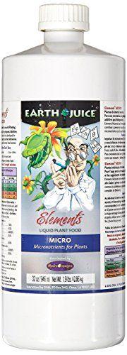 Hydro Organics HOEM35042 1-Quart Hydro Organics Earth Juice Elements Micro Plant Food 0-0-1 > To view further, visit now : Gardening Tools