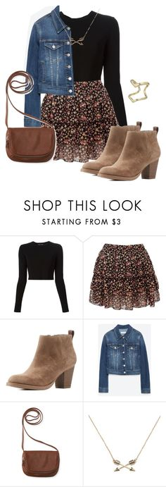 Allison Argent Outfit by zoetozier on Polyvore featuring Proenza Schouler, Zara, Charlotte Russe, Aéropostale, Express and Forever 21