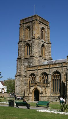 Yeovil St John Baptist: the late 14th-century design attributed to William Wynford is one of the predecessors of what became the classic spireless Somerset tower.