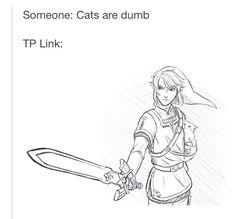 KILL THEM LINK CATS ARE PRECIOUS