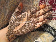 YouTube #artistic #traditional #floral #fusion #henna #mehndi #design #tutorial