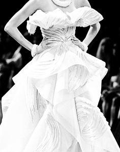 Christian Dior, couture, white