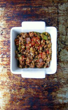 Bright & Delicious: Tomato Lentil Pressure Cooker Recipe