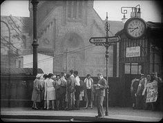 from Robert Siodmak, Edgar Ulmer and Billie Wilder's film Menschen am Sonntag 1925