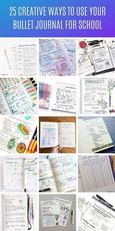 These school Bullet Journal layouts will help you stay on track this semester! So many genius ideas even if you're brand new to using a BuJo! Bullet Journal Diy, Bullet Journal Student, Bullet Journal Layout, Bullet Journal Inspiration, Bullet Journals, College Schedule, Exam Schedule, Bujo, Exam Planner