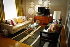 thrift store, DIY, and new - this room has it all and STYLE!