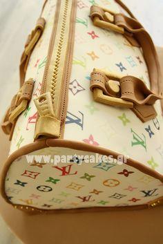 Louis Vuitton Bag cake   Flickr - Photo Sharing!