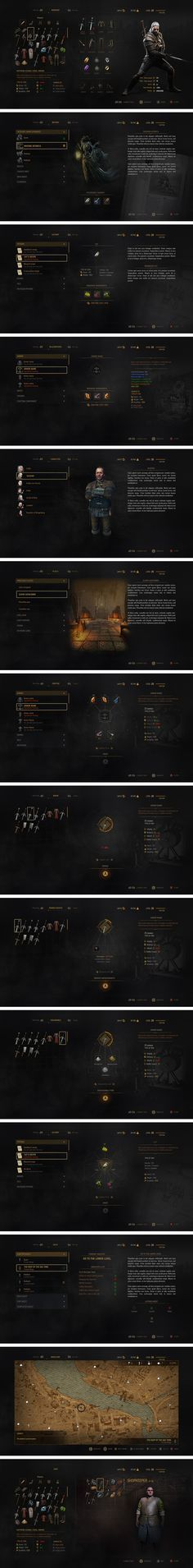 From April 2013 and over 2 1/2 years I worked as a UI ARTIST for the video game company CD PROJEKT RED in Warsaw - Poland, for the renowned and beautiful title THE WITCHER 3: THE WILD HUNT and as well for the title CYBERPUNK 2077. During this time I was in charge of designing graphic mockups for the UI, designing assets, backgrounds, symbols and icons for implementation in the game. The long design process of the interface for THE WITCHER 3 changed at least five different times, each of ...