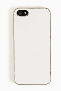 Pony Hair iPhone 5 Case in White
