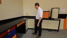 Corner storage for Garage Garage Tool Organization, Garage Storage, Kitchen Organization, Steel Workbench, Welding And Fabrication, Corner Storage, Car Repair Service, Lazy Susan, Atelier