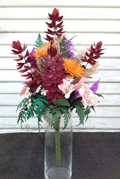 Paper flower bouquet  wild flowers by MyWoollyMammoth on Etsy