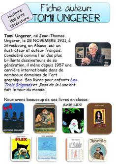 Fiche auteur Tomi Ungerer LES TROIS BRIGANDS OU LA PERIODE BLEUE
