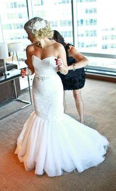 Used Mikaella Wedding Dress 1551, Size 2