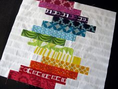 Stacked Rainbows by StitchedInColor, via Flickr  LOVE THE LOOK OF THIS!!!