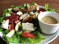 greek dressing by Elly Says Opa- @Crystal Chase this is the dressing i made! It was creamy, not oily!