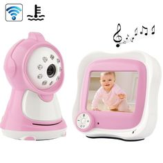amazones gadgets QT 3.5 inch LCD 2.4GHz Wireless Surveillance Camera Baby Monitor with 8-IR LED N: Bid: 120,81€ Buynow Price 120,81€…