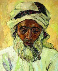 The Distinguished Arab by Irma Stern.