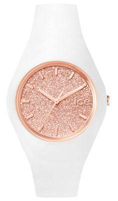 Damenuhr weiß rosa gold: Ice Watch Armbanduhr  ICE.GT.WRG.U.S.15 versandkostenfrei, 100 Tage Rückgabe, Tiefpreisgarantie, nur 99,00 EUR bei Uhren4You.de bestellen