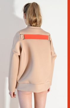 We Are Selecters · GB4. Nude Neopren Sweater. by sample-cm