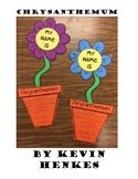The Wise Teacher Teaching Resources | Teachers Pay Teachers Creative Graphic Organizer, Graphic Organizers, Kevin Henkes, Unique Names, My Name Is, Chrysanthemum, Teacher Resources, Short Stories, Beautiful Flowers