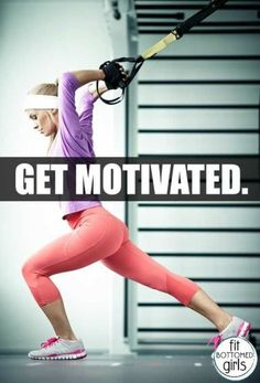 Motivation can be a tricky thing. | Fit Bottomed Girls