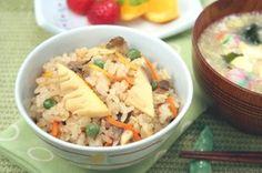 ごま風味炊き込みごはん How To Boil Rice, Recipes, Ripped Recipes, Cooking Recipes, Medical Prescription, Recipe