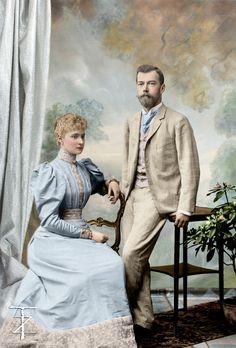 Emperor Nicholas & Empress Alexandra