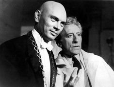 jean cocteau and Yul Brynner - theredlist.com