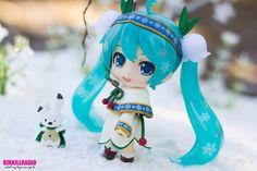 Snow Miku Snow Bell Ver. by kixkillradio on DeviantArt
