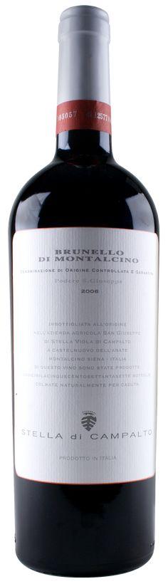 Brunello di Montalcino 2006 - Campalto (Tuscany, Italy)