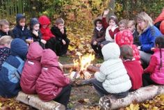 What a lovely way to warm up on a chilly day at Preschool and share stories.