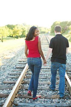Real Interracial Engagement Pictures | Black Women White Men | Interracial Blog