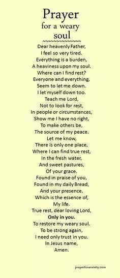 Soul pray