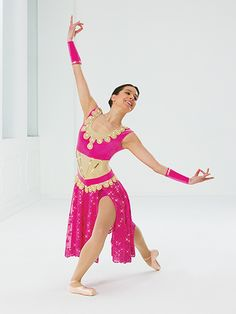 A Thousand and One Nights | Revolution Dancewear 2015 Costume Collection