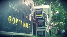 Cases all over the lawn - Gov't Mule
