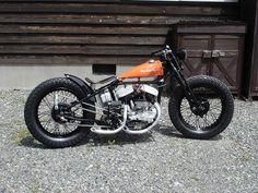 Bobber Inspiration   Flathead bobber   Bobbers and Custom Motorcycles