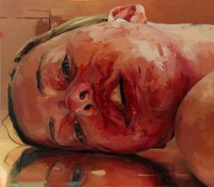 Jenny Saville The disturbing amiguity - such a powerful painting.