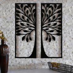 Wooden Wall Decor, Wooden Art, Metal Wall Art, Wall Art Decor, Panel Wall Art, Wall Art Sets, Wall Art Designs, Wall Design, Roman Clock