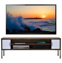 Modern tv stand with adjustable shelves