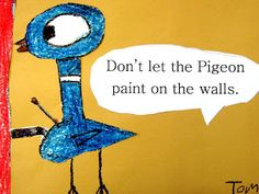 """Let's Draw the Pigeon!""- elementary book but if I want students to buy into my rules they need to be part of the process. As Day 1 begins give them hand out (google "" Lets draw the Pigeon"" pdf)  take attendance, while they draw. (warm-up), read book & they now create classroom rules. (don't let the pigeon run with scissors, scribble, etc.) fun way focus on rules for the room & and students will remember them better. (Ok I'll have posted a regular set of classroom rules too but add some…"