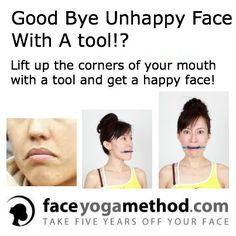 Good Bye Unhappy Face With A Tool