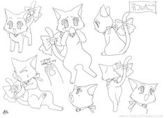 Tokyo Mew Mew Settei (Model Sheet)Neko Ichigo ★    CHARACTER DESIGN REFERENCES (https://www.facebook.com/CharacterDesignReferences & https://www.pinterest.com/characterdesigh) • Love Character Design? Join the Character Design Challenge (link→ https://www.facebook.com/groups/CharacterDesignChallenge) Share your unique vision of a theme, promote your art in a community of over 30.000 artists!    ★