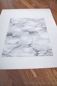 picture of lined cardboard, marble side facing up Lining Drawers, Diy Drawers, Diy Drawer Liners, Marble, Easy, Granite, Marbles