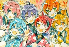 Anime Chibi, Anime Kunst, Anime Art, Anime Boy Zeichnung, Boy Drawing, Anime Best Friends, Cute Anime Boy, Vocaloid, Cute Art